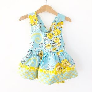 Jelly The Pug Spring Dress, Size 24 Months.